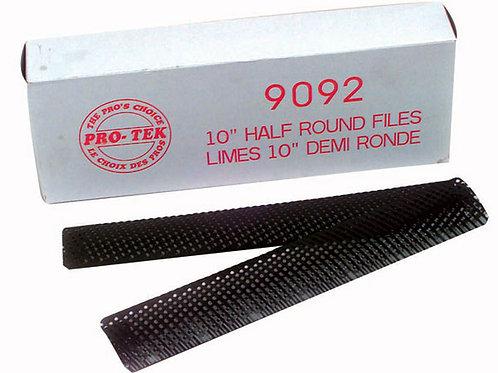"10"" Half Round Files 12/box"