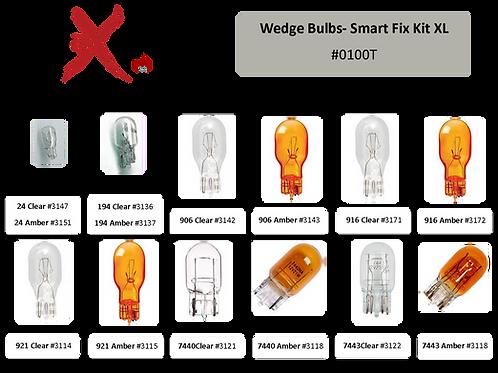 Wedge Bulb Smart Fix Kit-XL 132 pcs #0100T