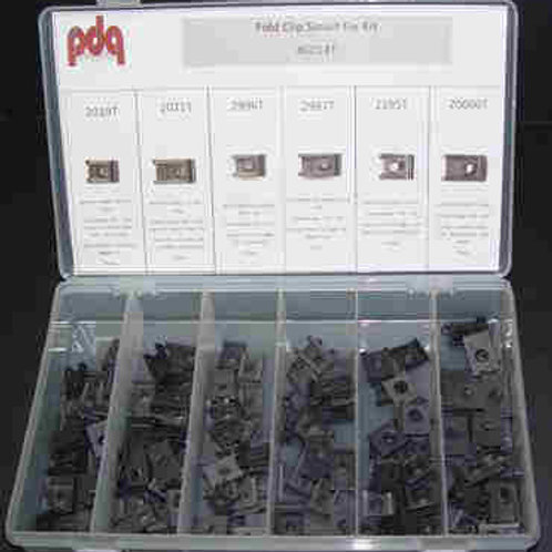 Fold Clips (for #8-#14 screws)-130 pcs.#0014T