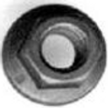 8-1.25mm Flange Nut #2995T (Starting at 50/box)
