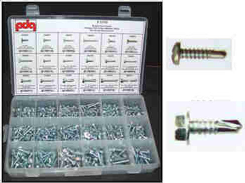 Phillips Oval Head Screw Asst #3005T