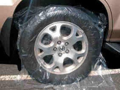 Plastic Wheel Covers 100 pcs #1243-IT