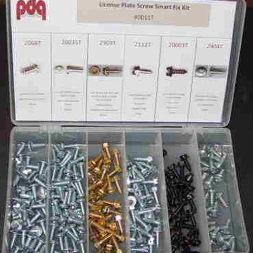 License Plate Screws- 160 pcs #0011T