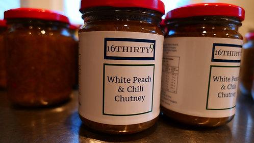 White Peach and Chili Chutney - 250ml Jar