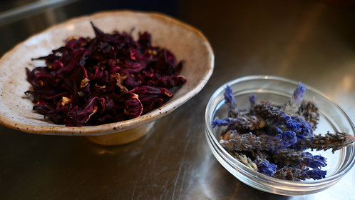 Lavender and Hibiscus Tea (25gm Bag)