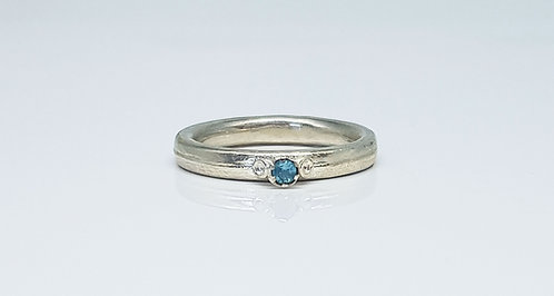 alternative, silver, gemstone, ring, cardiff, rebecca oldfield jewellery, silversmith, cardiff jeweller, silversmiths cardiff