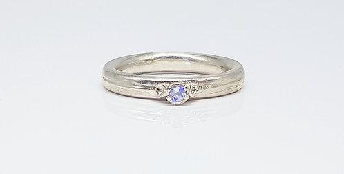 moonstone, silver, gemstone, ring, cardiff, rebecca oldfield jewellery, silversmith, cardiff jeweller, silversmiths cardiff