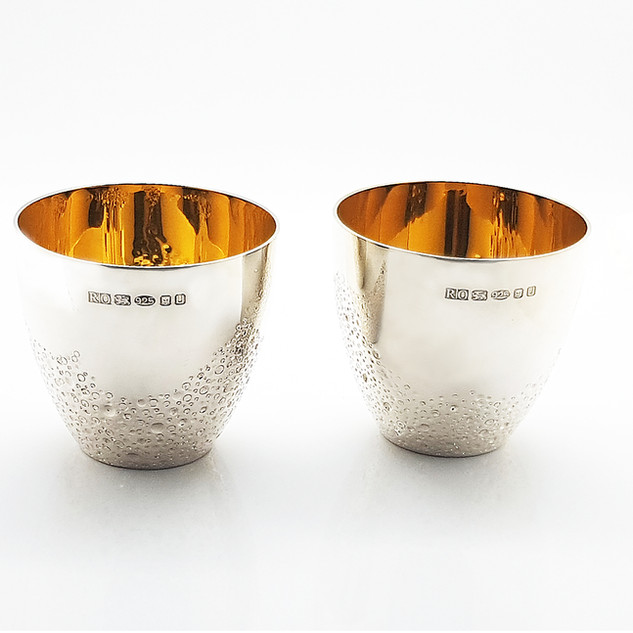 Rebecca Oldfield Pair Of Whiskey Tumblers