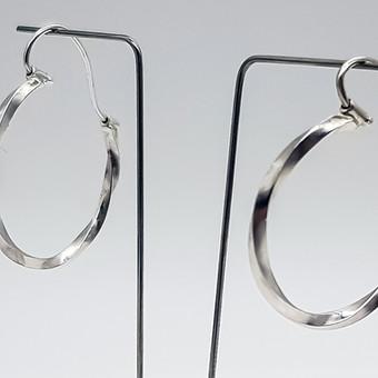 Rebecca OldfieldSimply Twisted Full Hoop Earrings