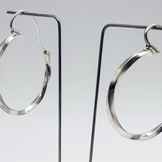 Rebecca OldfieldSimply Twisted Full Hoop Earrings