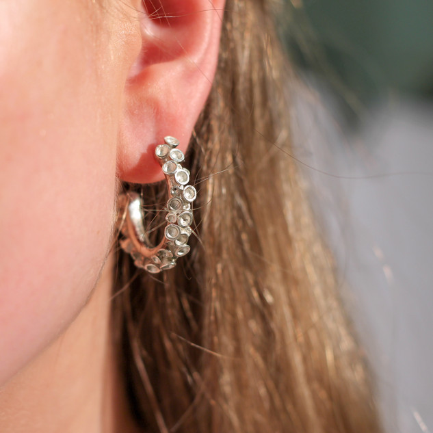 Rebecca Oldfield Chaotic Cluster Earrings