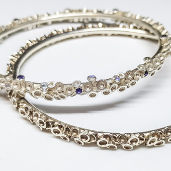 Rebecca Oldfield Chaotic Cluster Bangles