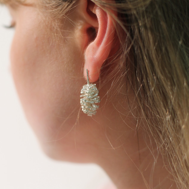 Rebecca Oldfield Cast Nature Earrings