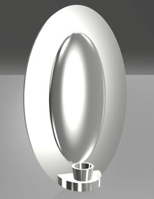 Wall Sconce CAD Drawing