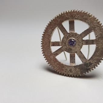 Rebecca Oldfield Clockwork Brooch
