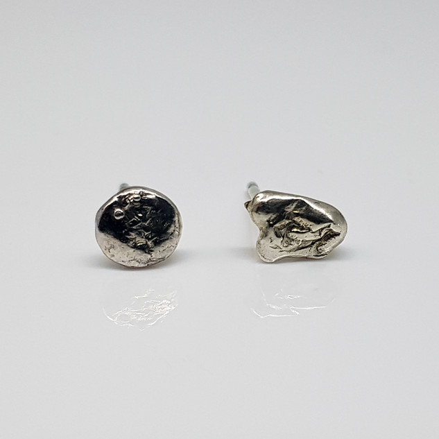 Rebecca Oldfield Perfectly Imperfect Water Cast Earrings