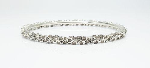 3dprinted jewellery, silver, bangle, cardiff, rebecca oldfield jewellery, silversmith, cardiff jeweller, silversmiths cardiff