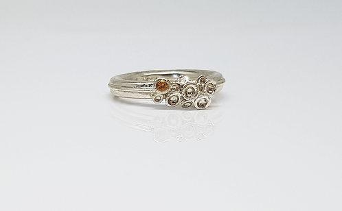 silver, 3dprinted, jewellery, ring, cardiff, rebecca oldfield jewellery, silversmith, cardiff jeweller, silversmiths cardiff