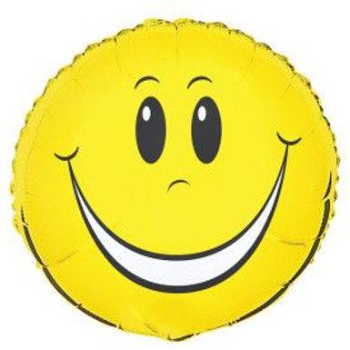 """Balloon Foil 18"""" Smiley Face"""