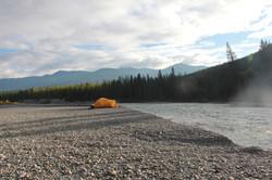 Kootenay River Tenting