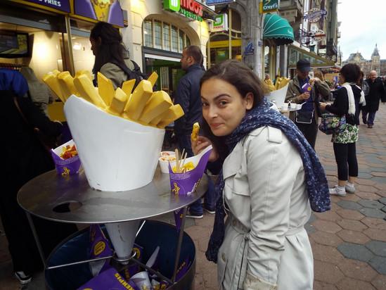 Onde comer em Amsterdam: muito fast food e uma visita ao Ice Bar