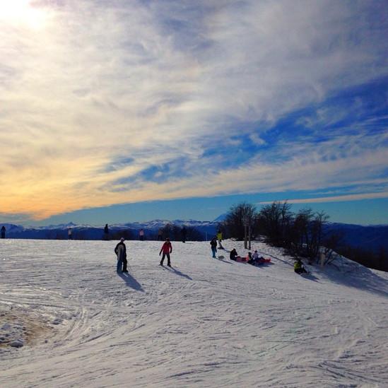 A estação de esqui Cerro Chapelco