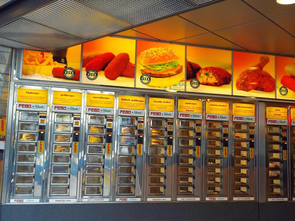 Fast Food em Amsterdam