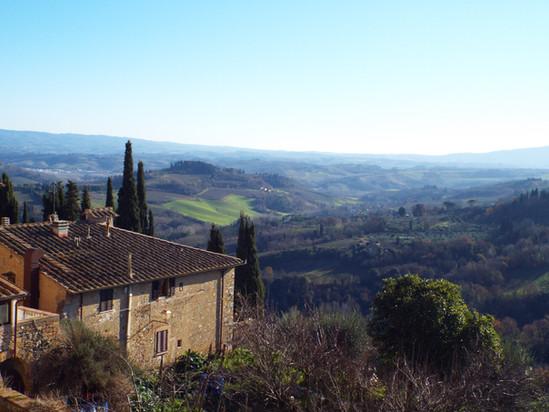Bate e Volta de Bolonha: Toscana no inverno!
