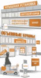 Наружная реклама в Вологде: световые короба, объемные буквы, стенды, таблички, вывески, банеры, оформление транспорта