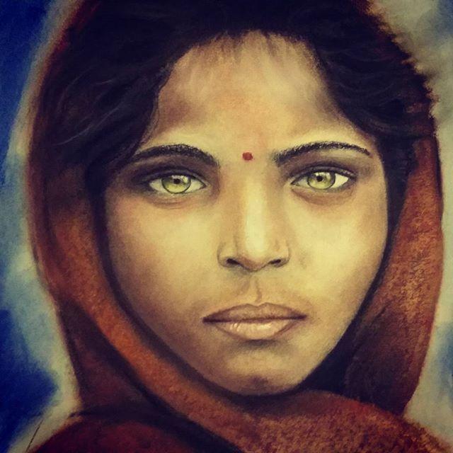 Afghani girl