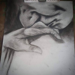 Smile its love. Cant figure how to finish this one..