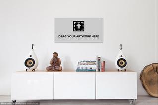 Virtual Rooms, Virtual Frames - Artwork displays for REAL online sales