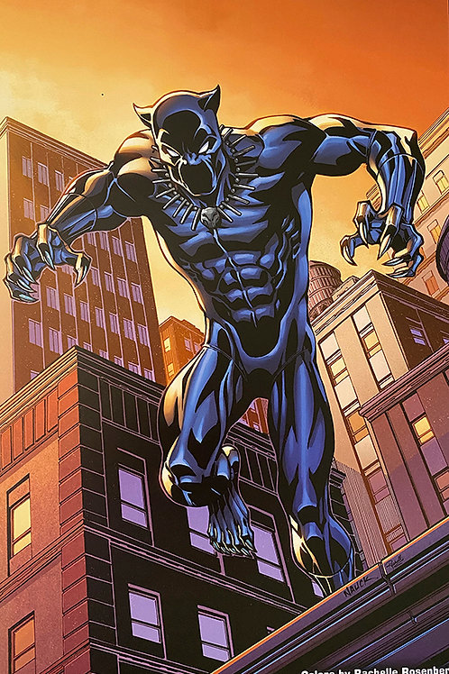 Limited Edition Marvel Black Panther Print