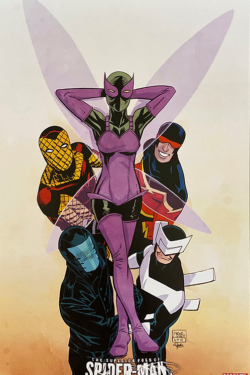Limited Edition Marvel Superior Foes of Spider-Man Print