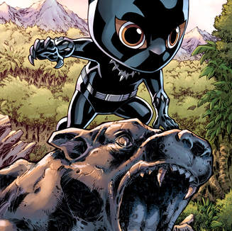 NYCC Black Panther Cosbaby