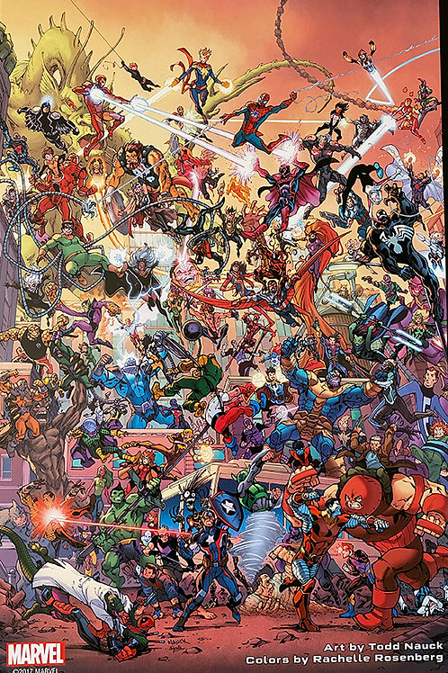 Limited Edition Marvel Secret Empire Print