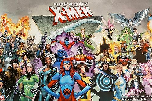 Limited Edition Marvel Print: Uncanny X-Men