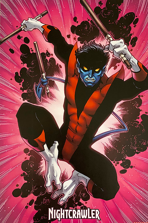 Limited Edition Marvel Nightcrawler Print