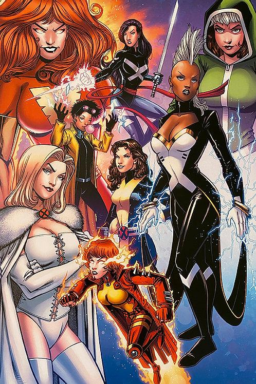 Women of Marvel Print