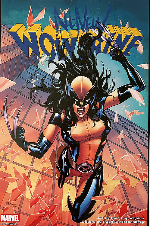 Limited Edition Marvel All New Wolverine Print