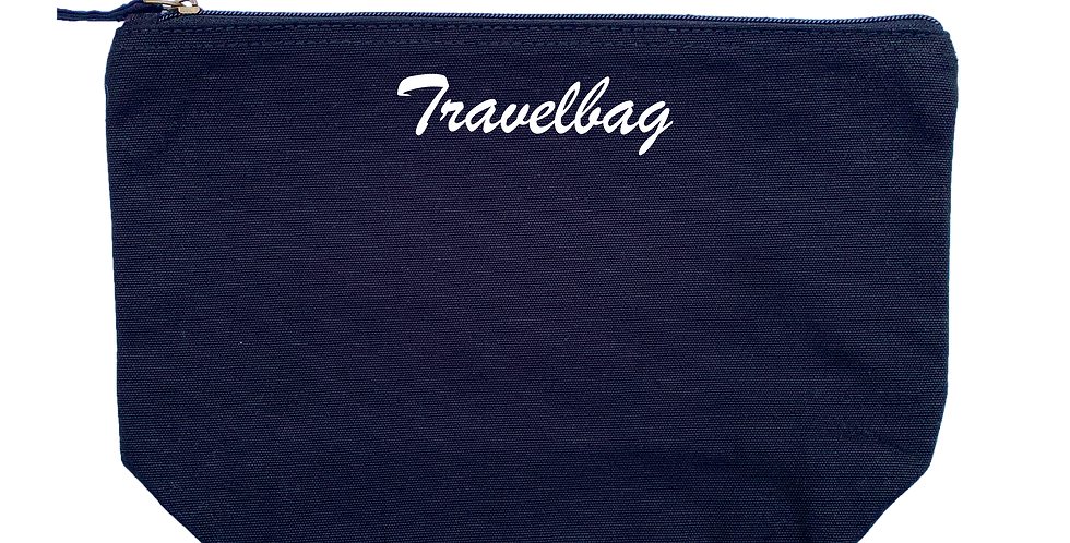 Accessory Bag 'Script' Druck - Medium