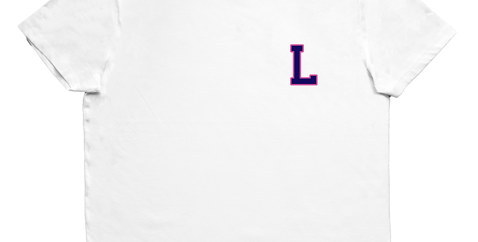 T-Shirt 'College' Druck
