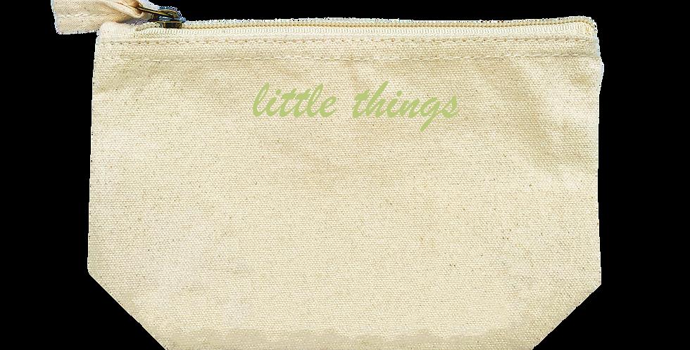 Accessory Bag 'Script' Druck - Small
