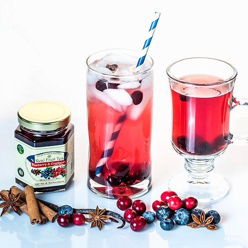 REAL FRUIT TEA - Blueberry & Cranberry with Anise