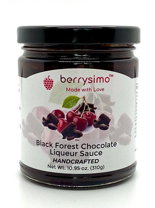 Berrysimo - Black Forest Chocolate Liqueur Sauce