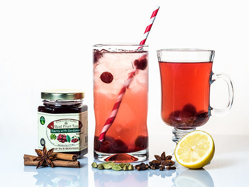 REAL FRUIT TEA - Cherry with Cardamom