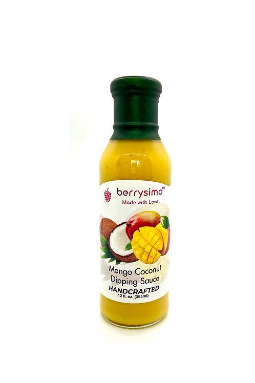 "Berrysimo - Mango Coconut Dipping Sauce ""Gluten-Free"""