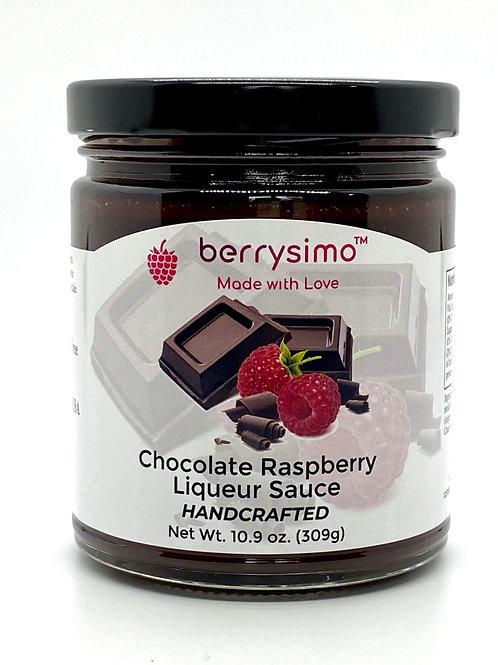 Berrysimo - Chocolate Raspberry Liqueur Sauce