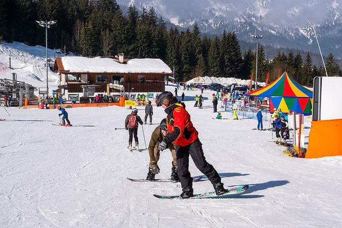 Snowboardkurs Berchtesgaden