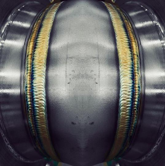 TIG Welding 316L Stainless Steel Pipe V